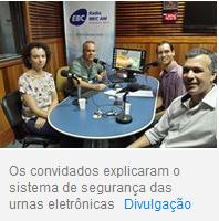 sistema de urnas eletrÒnicas- foto dos entrevistados