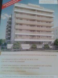 especulação imobiliária - lançamento na Praia de Charitas de prédio de 8 andares
