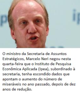 ministro da secretaria de assuntos estratégicos Marcelo Neri