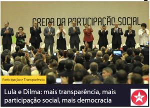 PT - participação e transparência