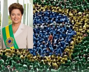 foto do povo mais Dilma